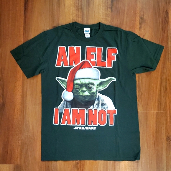 Star Wars Yoda Christmas T-Shirt